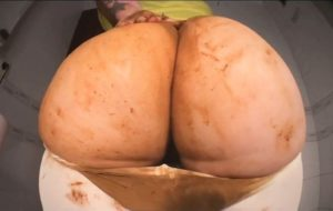 MONSTER poop killing my pantyhose with sweet betty parlour scat Girl [FullHD / 2020]