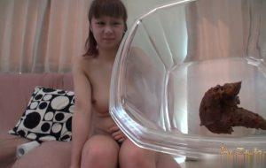 Jav Scat UNKO-11 Uncensored defecation solo 20 years old Sobuki