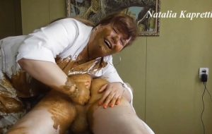 Great fisting with smelly shit, love it with Mistress Natalia Kapretti