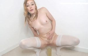 Pee Drinking and Pantyhose Poop with Spankmepink [FullHD]