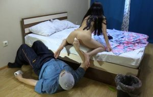 Sniff my farting and eat my shit! with ModelNatalya94 Scat Slave Video [FullHD / 2019]