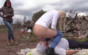 Toilet slave's place is near the scrapyard with MilanaSmelly [FullHD / 2020]