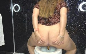Dirty filthy toilet slave with Princess-Cheryl Sexy Girl[FullHD]