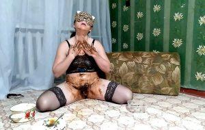 Olga eats shit and drinks urine ModelNatalya94